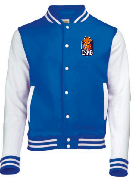 Veste varsity high school (personnalisable)