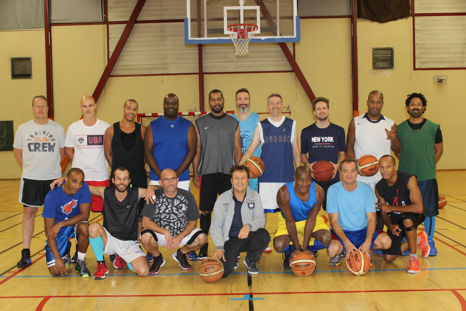 Anciens 1 - CS DE NOISY LE GRAND BASKET